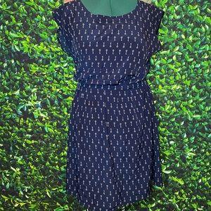 Old Navy Key Print Dress